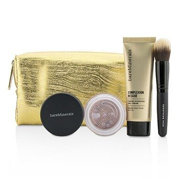 BareMinerals Set Take Me With You Complexion Rescue Try Me - # 01 Opal  3pcs+1bag
