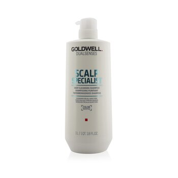 Goldwell Dual Senses Scalp Specialist Deep Cleansing Shampoo (Cleansing For All Hair Types)  1000ml/33.8oz