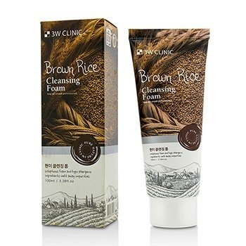 3W Clinic Cleansing Foam - Brown Rice  100ml/3.38oz