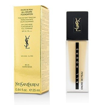 Yves Saint Laurent All Hours Foundation SPF 20 - # BD25 Warm Beige  25ml/0.84oz
