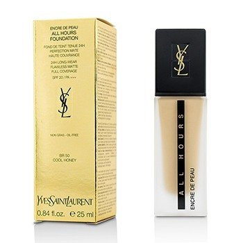 Yves Saint Laurent  All Hours Foundation SPF 20 - # BR50 Cool Honey  25ml/0.84oz