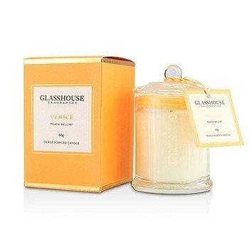 Glasshouse Triple Scented Candle - Venice (Peach Bellini)  60g