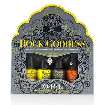 O.P.I Rock Goddess Mini Nail Lacquer Set  5pcs