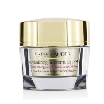 Estee Lauder Revitalizing Supreme light +Global Anti-Aging Cell Power Crema Libre de Aceite  50ml/1.7oz