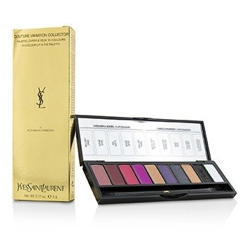 イヴサンローラン Couture Variation Collector 10 Colour Lip & Eye Palette - # 5 Nothing Is Forbidden  5g/0.17oz