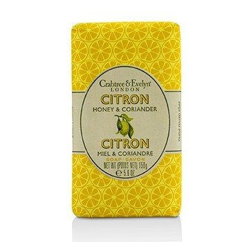 Crabtree & Evelyn Citron, Honey & Coriander Triple Milled Soap  158g/5.6oz