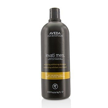 Aveda Invati Men Nourishing Exfoliating Shampoo - For Thinning Hair (Salon Product)  1000ml/33.8oz