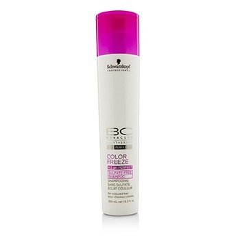 Schwarzkopf BC Color Freeze pH 4.5 Sulfate-Free Shampoo (For Coloured Hair)  250ml/8.5oz