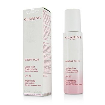 Clarins Bright Plus Brightening Hydrating Day Lotion SPF 20  75ml/2.5oz