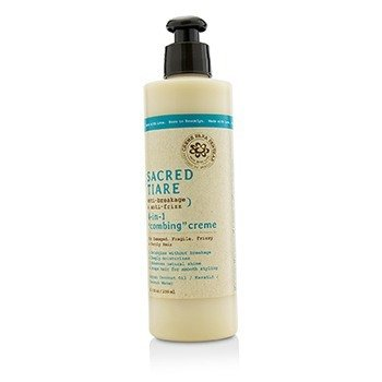 """Carol's Daughter Sacred Tiare Anti-Breakage & Anti-Frizz 4-in-1 """"Combing"""" Creme (For Damaged, Fragile, Frizzy & Unruly Hair)  236ml/8oz"""