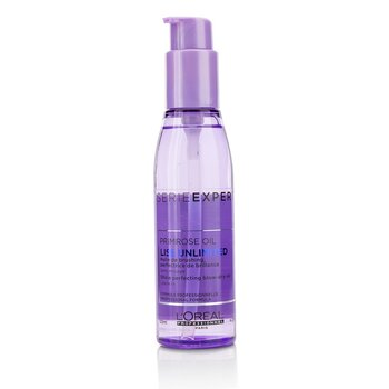 L'Oreal Professionnel Serie Expert - Liss Unlimited Primrose Oil Shine Perfecting Blow-Dry Oil  125ml/4.2oz
