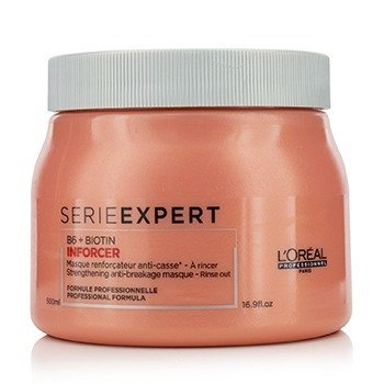 L'Oreal Professionnel Serie Expert - Inforcer B6 + Biotin Strengthening Anti-Breakage Masque  500ml/16.9oz