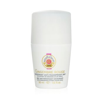 Roge & Gallet Gingembre Rouge 48H Desodorante en Roll On Anti Transpirante  50ml/1.6oz