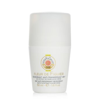 Roge & Gallet Fleur De Figuier 48H Desodorante en Roll On Anti Transpirante  50ml/1.6oz