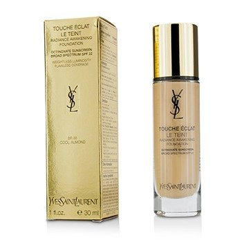 Yves Saint Laurent Touche Eclat Le Teint Radiance Awakening Foundation SPF22 - #BR30 Cool Almond  30ml/1oz