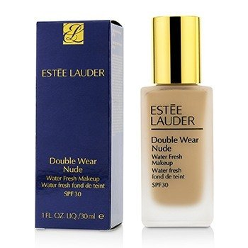 Estee Lauder Double Wear Nude Water Fresh Makeup SPF 30 - # 3C2 Pebble  30ml/1oz