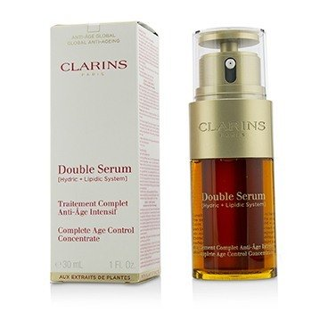 克蘭詩 Double Serum (Hydric + Lipidic System) Complete Age Control Concentrate (Box Slightly Damaged)  30ml/1oz