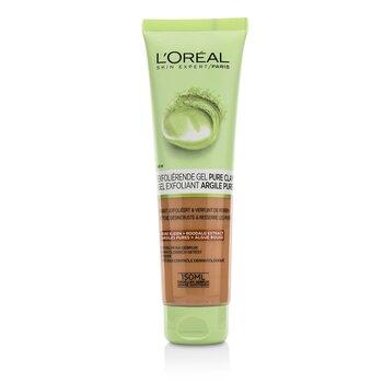 L'Oreal ماسك طيني Skin Expert Pure - يقشر وينقي  150ml/5oz
