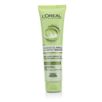 欧莱雅  Skin Expert Pure-Clay Cleanser - Purify & Mattify  150ml/5oz