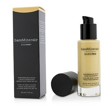 ベアミネラル BarePro Performance Wear Liquid Foundation SPF20 - # 03 Champagne  30ml/1oz