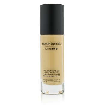 ベアミネラル BarePro Performance Wear Liquid Foundation SPF20 - # 06 Cashmere  30ml/1oz