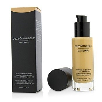 ベアミネラル BarePro Performance Wear Liquid Foundation SPF20 - # 11 Natural  30ml/1oz