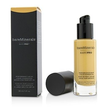 ベアミネラル BarePro Performance Wear Liquid Foundation SPF20 - # 15 Sandalwood  30ml/1oz