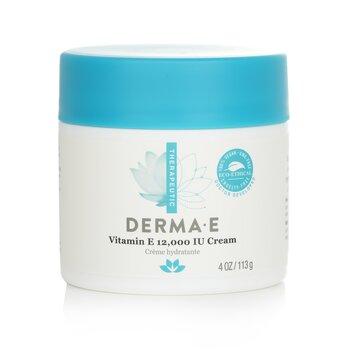 Derma E Therapeutic Vitamin E 12,000 IU Cream  113g/4oz