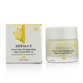 Derma E Even Tone Brightening Day Cream SPF 15  56g/2oz