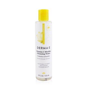 Derma E Vitamin C Micellar Cleansing Water  175ml/6oz