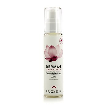 Derma E Essentials Peel Para la Noche  60ml/2oz