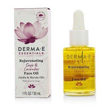 德玛依  Essentials Rejuvenating Sage & Lavender Face Oil  30ml/1oz