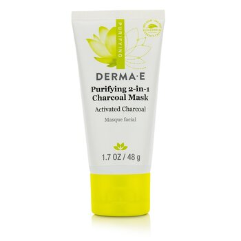 Derma E Purifying 2-In-1 Charcoal Mask  48g/1.7oz