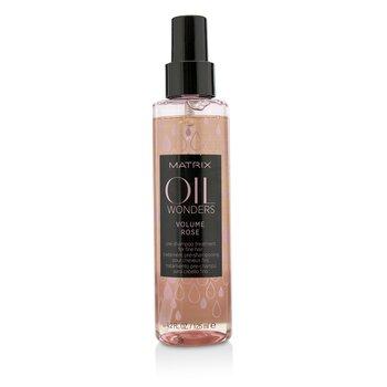 Matrix Oil Wonders Volume Rose Pre-Shampoo Treatment (For Fine Hair)  125ml/4.2oz