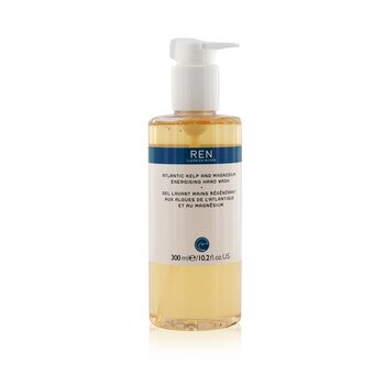 Ren Atlantic Kelp And Magnesium Energising Hand Wash 42791/5312  300ml/10.2oz