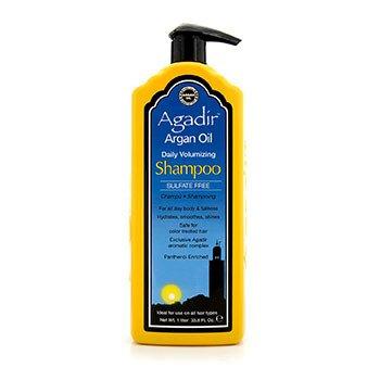 Agadir Argan Oil Champú Voluminizante Diario Libre de Sulfato (Para Todo Tipo de Cabello)  1000ml/33.8oz