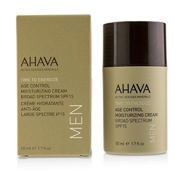 Ahava Time To Energize Crema Hidratante Control de Edad SPF 15  50ml/1.7oz
