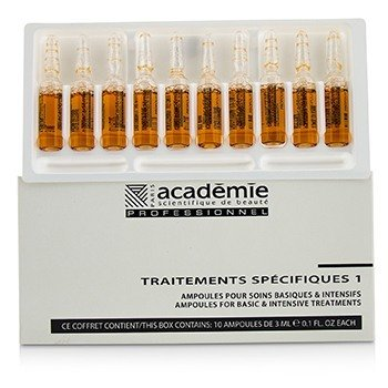 Academie Specific Treatments 1 Ampoules Propolis - Salon Product  10x3ml/0.1oz