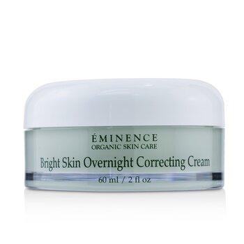 Eminence Bright Skin Overnight Correcting Cream - Normal to Dry Skin  60ml/2oz