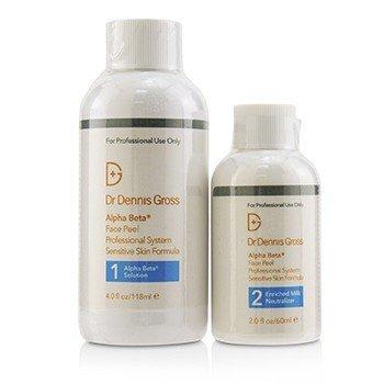 Dr Dennis Gross Alpha Beta Ultra Gentle Daily Peel 2 Step Kit - Salon Size  -