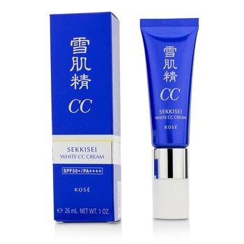 Kose Sekkisei White Crema CC SPF50+ PA++++ - # 01 Light Ochre  26ml/1oz