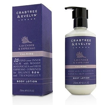 Crabtree & Evelyn Lavender & Espresso Loción Corporal Calmante  250ml/8.5oz