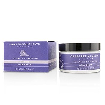 Crabtree & Evelyn Lavender & Espresso Crema Corporal Calmante  250ml/8.64oz