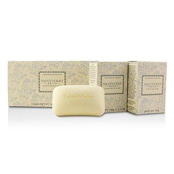 Crabtree & Evelyn Nantucket Briar Jabón de Baño Perfumado  3x100g/3.5oz