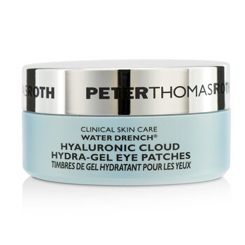 Peter Thomas Roth Water Drench Hyaluronic Cloud Hidra-Gel Parhces de Ojos  30pairs