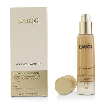 Babor Skinovage PX Advanced Biogen Антивозрастной BB Крем SPF20 - # 01 Light  50ml/1.7oz