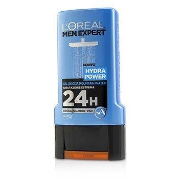 ロレアル Men Expert Shower Gel - Hydra Power (For Body, Face & Hair)  300ml/10.1oz