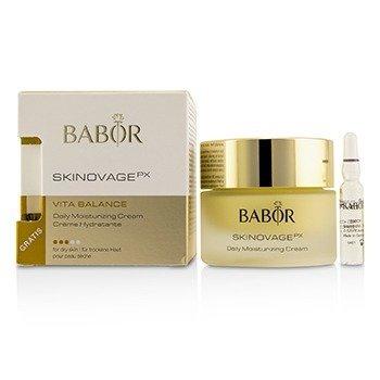 Babor Skinovage PX Vita Balance Crema Hidratante Diaria (Con Impulsador Libre de Colágeno 2ml) - Para Piel Seca  50ml/1.7oz