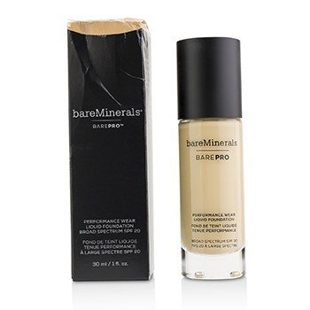 BareMinerals BarePro Performance Wear Base Líquida SPF20 - # 12 Warm Natural (Caja Ligeramente Dañada)  30ml/1oz