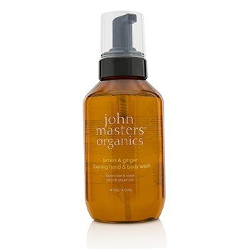 John Masters Organics Lemon & Ginger Foaming Hand & Body Wash  473ml/16oz